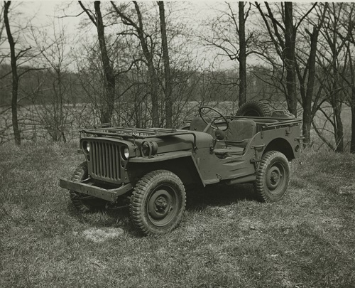 Ford GPW in Woods - 29 april 1943 - Credit to the Collection of The Henry Ford and G503.com