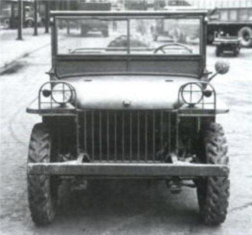 1940 Buddy - Ford with Budd Body. Credit to ewillys.com