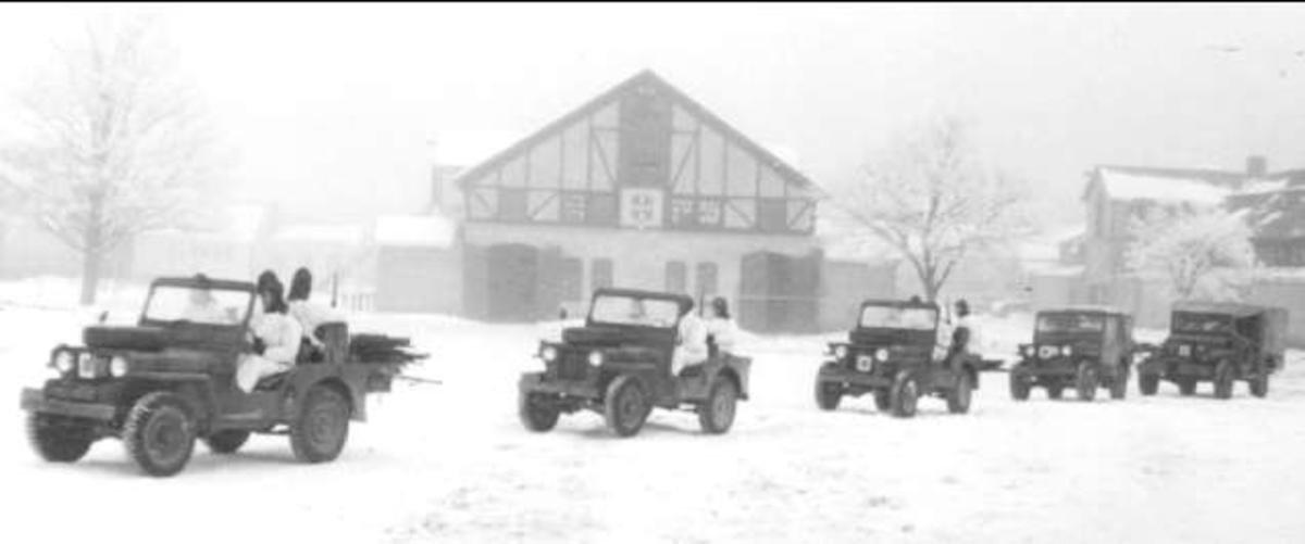 Jeeppluton, spaningsskvadron. KBGF 011059. Digitaltmuseum.