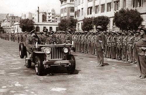 King Farouk I, Abdeen Square 1948. Credit to Wikipedia.