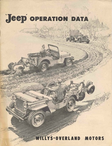 Willys-Overland brochure. Credit to Derek Redmond of the CJ3B Page.