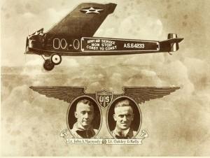 Lt Macready & Lt Kelly. Credit to San Diego Air & Space Museum Archive