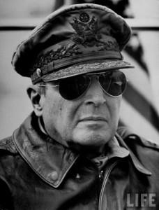 General Douglas A MacArthur. Credit to Life