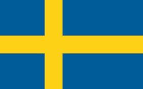 Sweden Flag. Credit to varldensflaggor.se