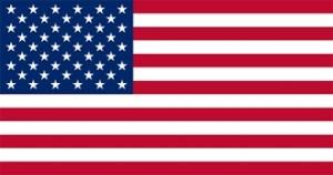 USA Flag. Credit to varldensflaggor.se